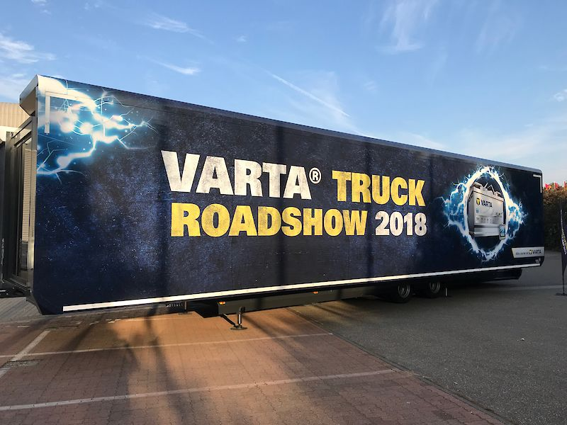 VARTA® Truck Roadshow machte Halt in Sinsheim